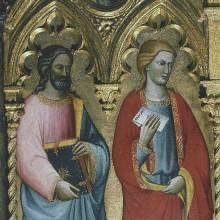 Anna Selbdritt und Heilige — Der Heilige Simon und der Heilige Thaddäus