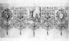Entwurf für Baldachin (für Santissima Annunziata)