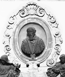 Epitaph für Agostino di Austino Chigi