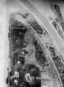 Sant'Agostino in Siena: Fresken der Sakristeikapelle — Stirnwandfresken — Verkündigung