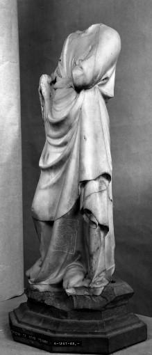 Engel (Fragment, ursprünglich mit Kandelaber)