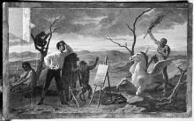 Allegorie der Landschaftsmalerei