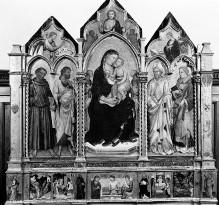 Image from object titled Triptychon — Triptychon: Mittelteil und Altarflügel