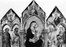 Triptychon — Triptychon: Mittelteil und Altarflügel