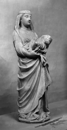 Stehende Madonna mit Kind