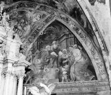 Christologischer Zyklus — Lünetten — Vermählung Mariens