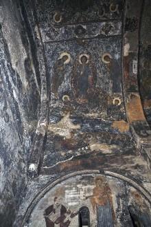Die Ausmalung der Saalkirche — Szenen aus dem Leben Christi: Letztes Abendmahl, Verklärung, Geburt Christi und der Einzug in Jerusalem