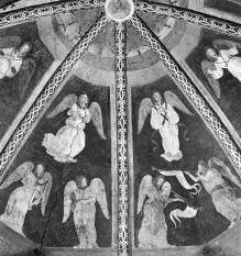 Die Ausstattung der Cappella Grifi — Musizierende Engel