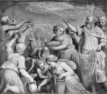 Alttestamentarische Szenen — Die Mannalese