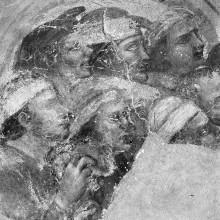 Szenen aus dem Leben des Heiligen Matthäus — Die Magier Zaroen und Arphaxat verzaubern und verkrüppeln Bewohner der Stadt Nadaber