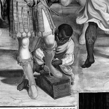 Das malerische Programm des Presbyteriums — Sacra Conversazione und Szenen aus dem Leben Christi — Die Anbetung der Könige