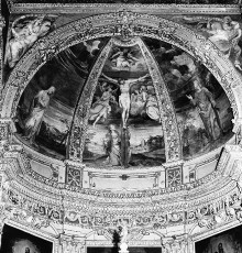 Das malerische Programm des Presbyteriums — Die Kreuzigung Christi
