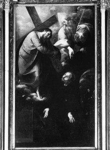 Die Vision des Heiligen Ignazius von Loyola