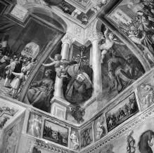 Innenausstattung mit Herrscherallegorien des Hauses Savoyen