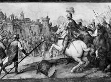 Innenausstattung mit Herrscherallegorien des Hauses Savoyen — Szenen aus dem Leben des Amadeo VIII.