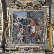 Szenen aus dem Leben des Heiligen Karl Borromäus — Der Heilige Karl Borromäus verteilt Almosen