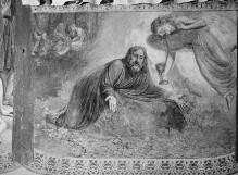 Szenen aus dem Alten und dem Neuen Testament — Christus am Ölberg