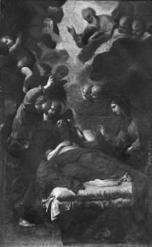 Image from object titled Der Tod des Heiligen Josefs