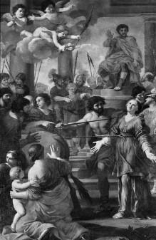 Das Martyrium der Heiligen Lucia