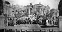 Szenen aus dem Leben Julius Cäsars — Der triumphale Einzug Cäsars in Rom