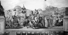 Szenen aus dem Leben Julius Cäsars — Der Einzug der Spolien Cäsars in Rom