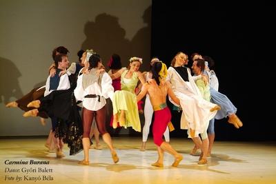 Carmina Burana, Baletul din Gyor; Carmina Burana, The Ballet of Gyor