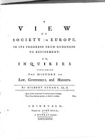 Image from object titled A view of society in Europe, in its progress from rudeness to refinement.