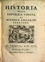Image from object titled Historia della republica Veneta