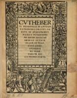 Image from object titled In laudem matrimonii oratio, habita in sponsalibus Mariae ... regis Angliae Henrici octavi filiae et Francisci ... Francorum regis primogeniti