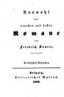 Image from object titled Acht Tage im Schloß. Aus den Memoiren eines jungen Mannes ; Drittes Bändchen