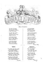 Image from object titled Obrazy zivota : Domaci illustrovana biblioteka zabavneho i pouceni cteni (Jg. 1859)