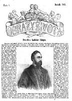 Image from object titled Obrazy zivota : Domaci illustrovana biblioteka zabavneho i pouceni cteni (Jg. 1861)