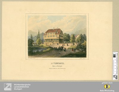 Ditzenbach : Molken und Bad-Anstalt