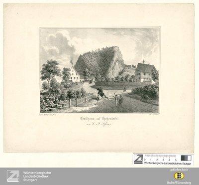 Gasthaus auf Hohentwiel : von C. F. Pfizer