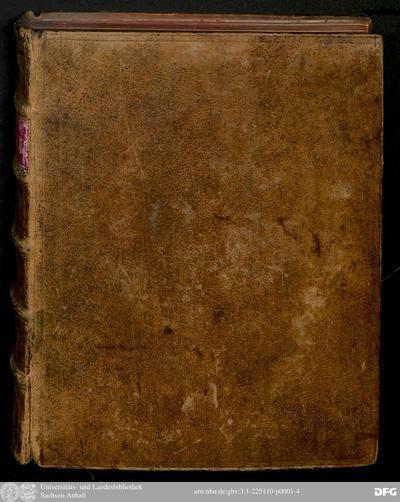 Image from object titled / Quam Adnuente Supremo Numine, In Academico Auditorio Majore Die XXIII. Novemb. MDCCLXIII. H. S. ... Et Respondens Henricus Benzenberg, Sugtelena Julicensis (Dissertatio Theologica, Dignitatem Naturæ Humanæ Ex Gen. IX, 6., Pars 2)