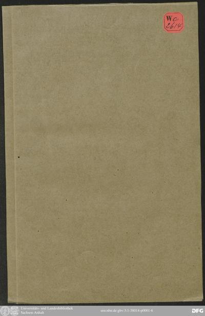 Image from object titled Unterthänigste Thränen/ So über Den Allzufrühen doch Hoch-Seel. Todt/ Deß ... Herrn Bernhards/ deß ältern/ Hertzogs zu Sachsen ...
