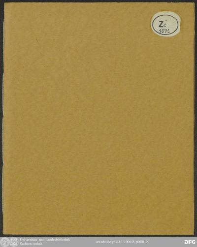 Image from object titled Des Ehr- und Lobwürdigen Herrn/ M. Johann Scheiben; getrewen und wolverdienten Thalwitzer Pfarrer; Unvermeidliches Scheiben-Gewende; Seliges Ende ... So Ihm ... am 17. des noch harten Hornungen/ ... sanft und selig/ Menschlichen Lebens-Faden-Abschnitt ...