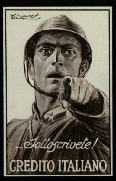 ... Sottoscrivete! Credito Italiano  / Mauzan