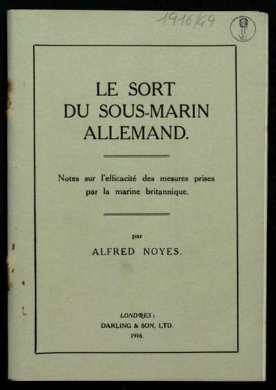 Le *sort du sous-marin Allemand  : notes sur l'efficacit