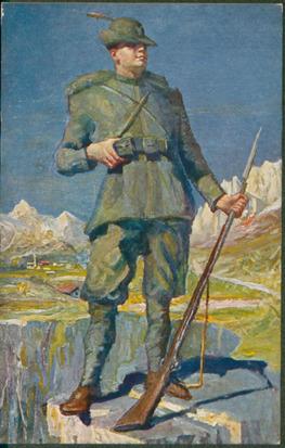 [Il guardian dell'Alpi] / G. Amisani