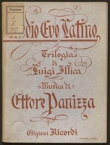 Image from object titled Medio Evo latino : trilogia : Genova, Politeama genovese, stagione d'autunno 1900 / di Luigi illica ; musica di Ettore Panizza