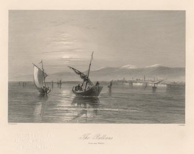 The Balkans, from near Widdin / J. Godfrey ; W. H. Bartlett.