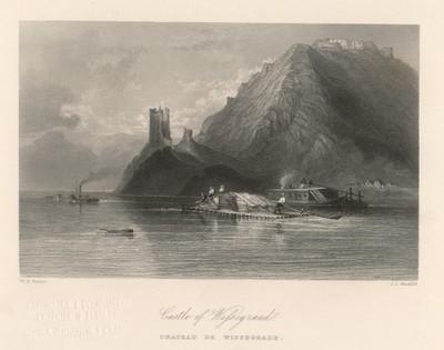 Castle of Wissegraad / J. J. Hinchcliff ; W. H. Bartlett.