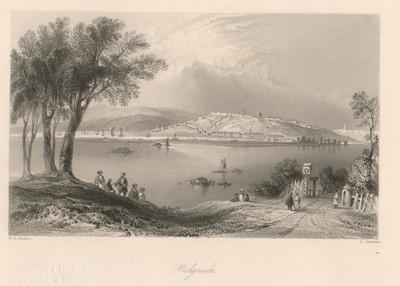 Belgrade / E. Brandard ; W. H. Bartlett.