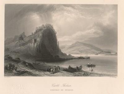 Castle Theban / J. C. Armytage ; W. H. Bartlett.