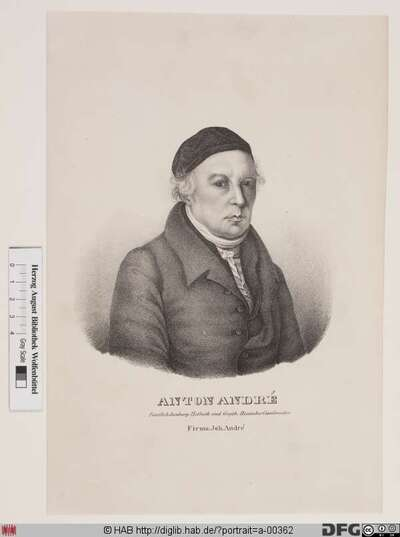 Bildnis Johann Anton André