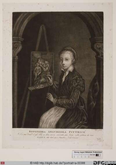 Bildnis Sofonisba Anguissola (Anguisciola)
