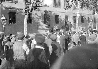 Image from object titled Assalt a l'Escola Pia de Sant Antoni  durant la Setmana Tràgica