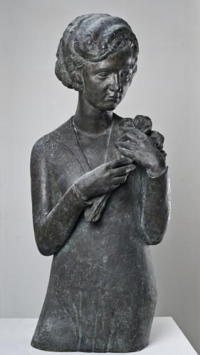 Žena s cvijećem