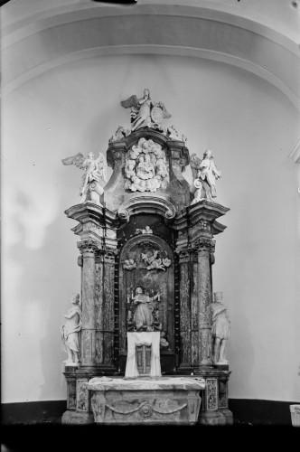 Crkva Svetog Ivana Nepomuka Glina Glavni Oltar Griesbach